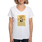 Eliot Ness Women's V-Neck T-Shirt