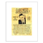 Eliot Ness Small Poster