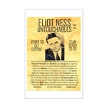 Eliot Ness Mini Poster Print