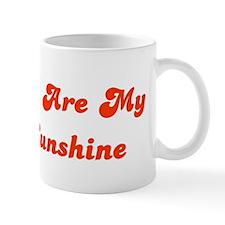 You Are My Sunshine Small Mugs