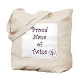 Proud Nana of Twins PRP Tote Bag