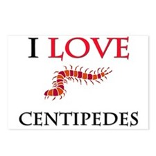 I Love Centipedes Postcards (Package of 8)