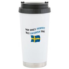 Perfect Swedish 2 Ceramic Travel Mug