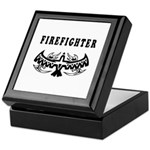 Firefighter Tattoos Keepsake Box
