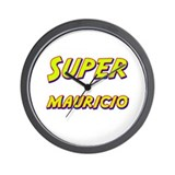 Super mauricio Wall Clock