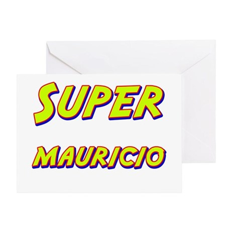 Super mauricio Greeting Card