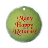 Happy Returns Ornament (Round)