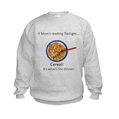 TwilightMOMS Cereal Kids Sweatshirt