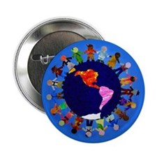"Peaceful Children 2.25"" Button (10 pack)"