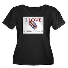 I Love Bowhead Whales T