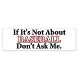 Baseball Bumper Sticker (10 pk)