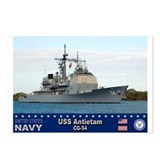USS Antietam CG-54 Postcards (Package of 8)