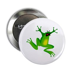 "Feeling Froggy 2.25"" Button (10 pack)"