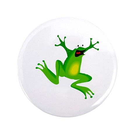 "Feeling Froggy 3.5"" Button (100 pack)"