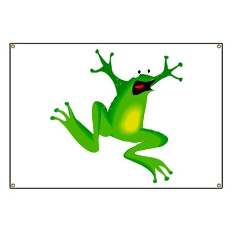 Feeling Froggy Banner