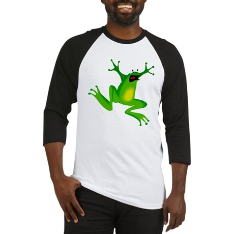 Feeling Froggy Baseball Jersey
