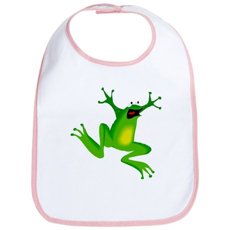 Feeling Froggy Bib