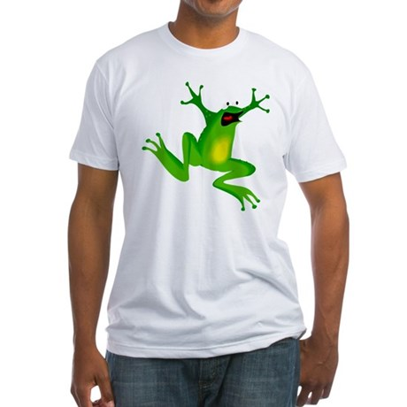 Feeling Froggy Fitted T-Shirt