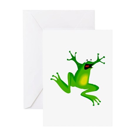 Feeling Froggy Greeting Card