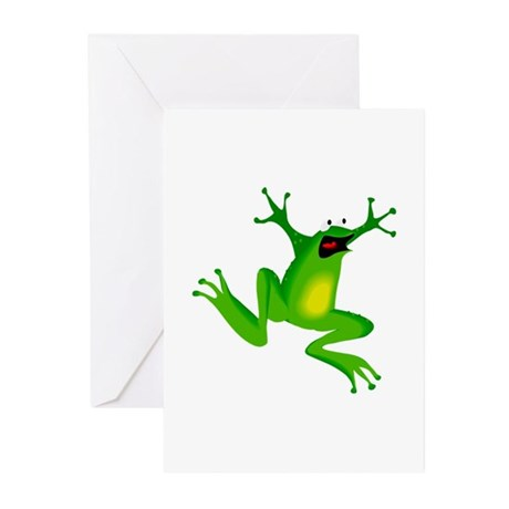 Feeling Froggy Greeting Cards (Pk of 10)