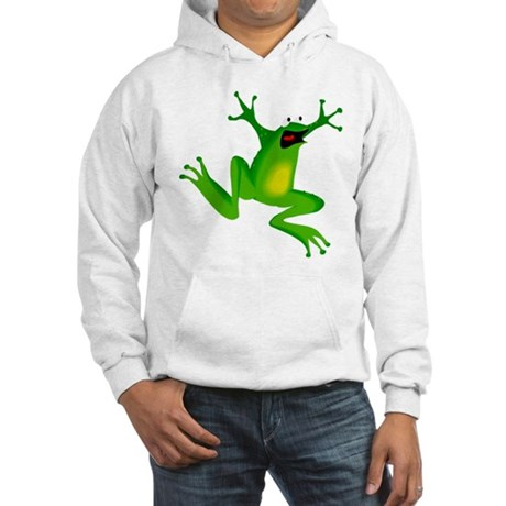 Feeling Froggy Hooded Sweatshirt