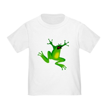 Feeling Froggy Toddler T-Shirt