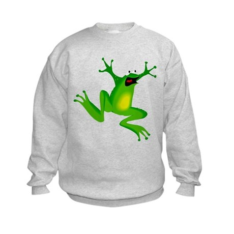 Feeling Froggy Kids Sweatshirt