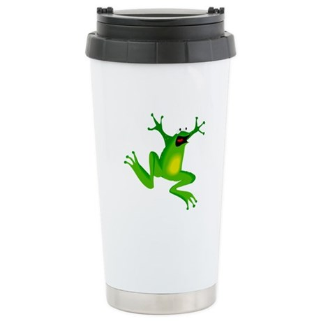 Feeling Froggy Ceramic Travel Mug