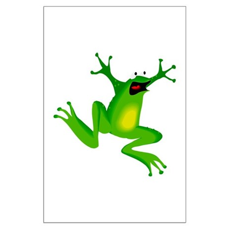 Feeling Froggy Large Poster