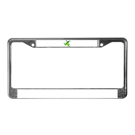 Feeling Froggy License Plate Frame