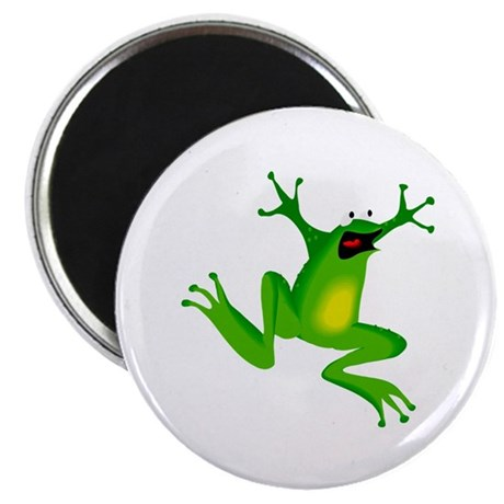 "Feeling Froggy 2.25"" Magnet (100 pack)"