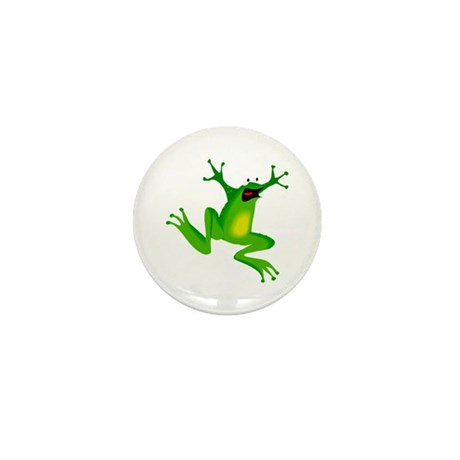 Feeling Froggy Mini Button