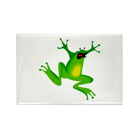 Feeling Froggy Rectangle Magnet (100 pack)
