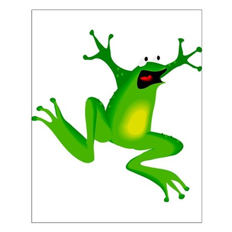 Feeling Froggy Small Poster