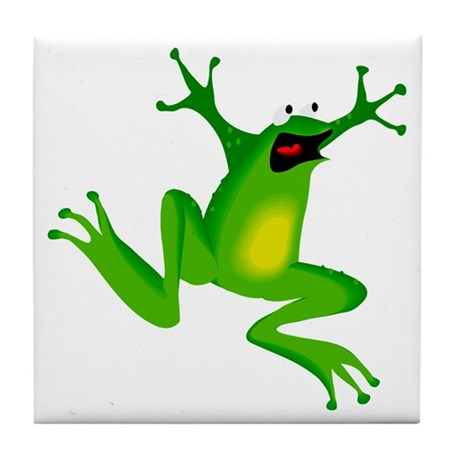 Feeling Froggy Tile Coaster