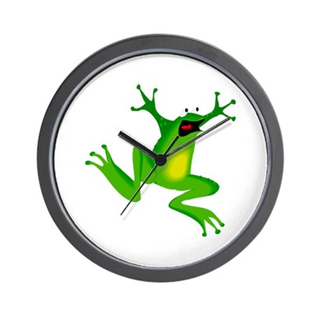Feeling Froggy Wall Clock