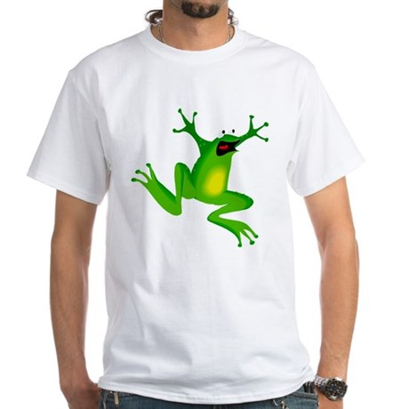 Feeling Froggy White T-Shirt