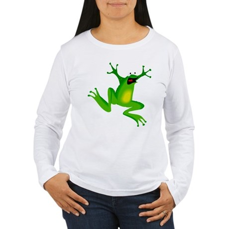 Feeling Froggy Women's Long Sleeve T-Shirt
