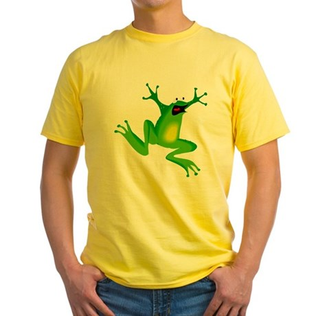 Feeling Froggy Yellow T-Shirt