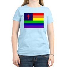 Gay Christian Flag T-Shirt