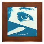 Chain Eye Blue Framed Tile