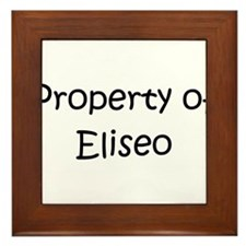 Cool Eliseo Framed Tile