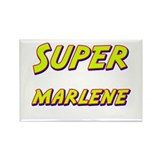 Super marlene Rectangle Magnet