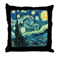 "Van Gogh's ""Starry Night"" Throw Pillow"