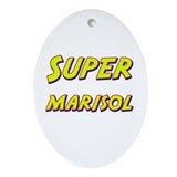 Super marisol Oval Ornament