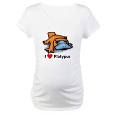 I Love Platypus Shirt