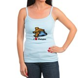 I Love Platypus Ladies Top