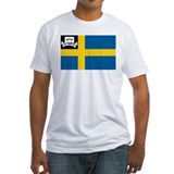 Music Pirate Swedish Flag Shirt