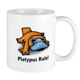 Platypus Rule! Small Mug