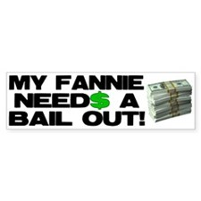 My Fannie Bumper Bumper Sticker